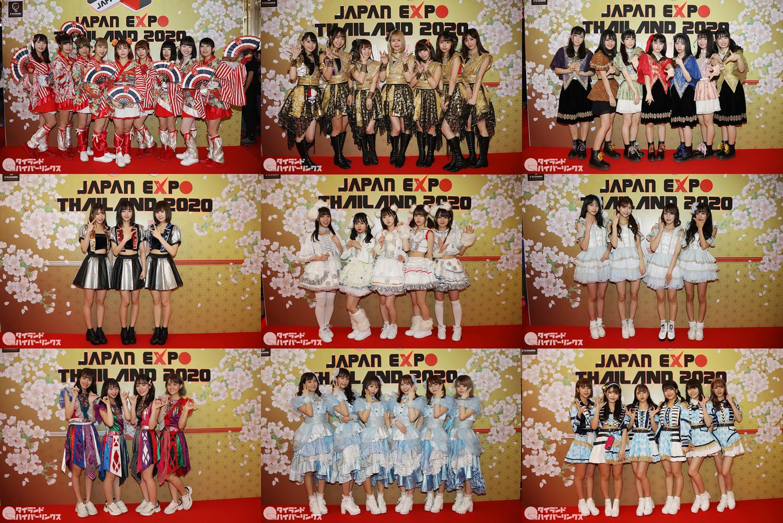 「JAPAN EXPO THAILAND 2020」初日を沸かせた日本のアイドルグループたち
