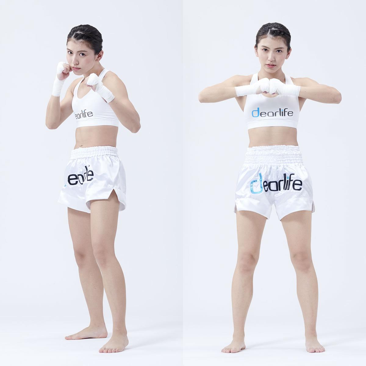 世界に挑戦する筋肉美女ぱんちゃん璃奈選手(キックボクシング) DLホールディングス イメージキャラクターに起用
