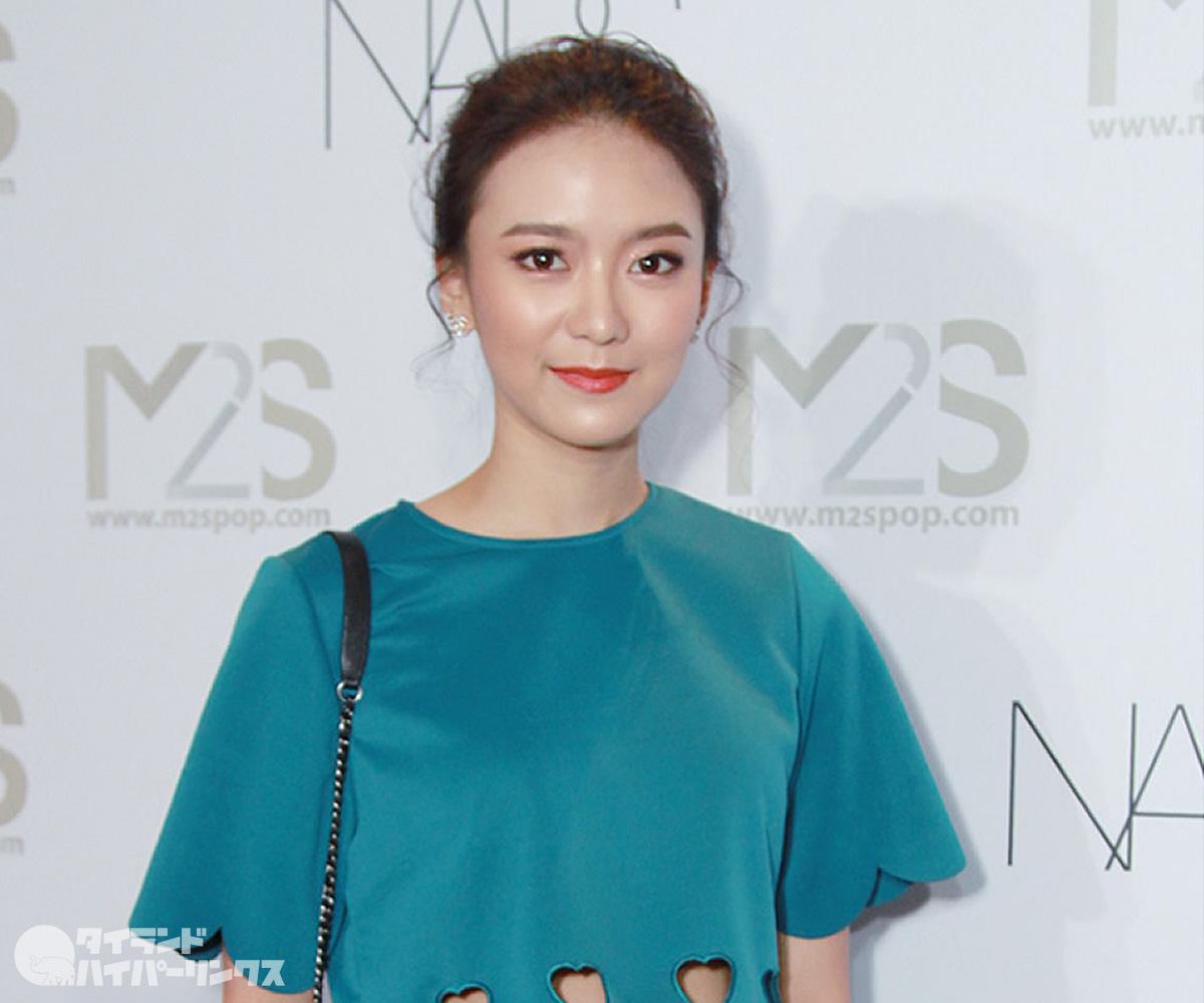 タイの人気若手女優が新型コロナウイルスに感染