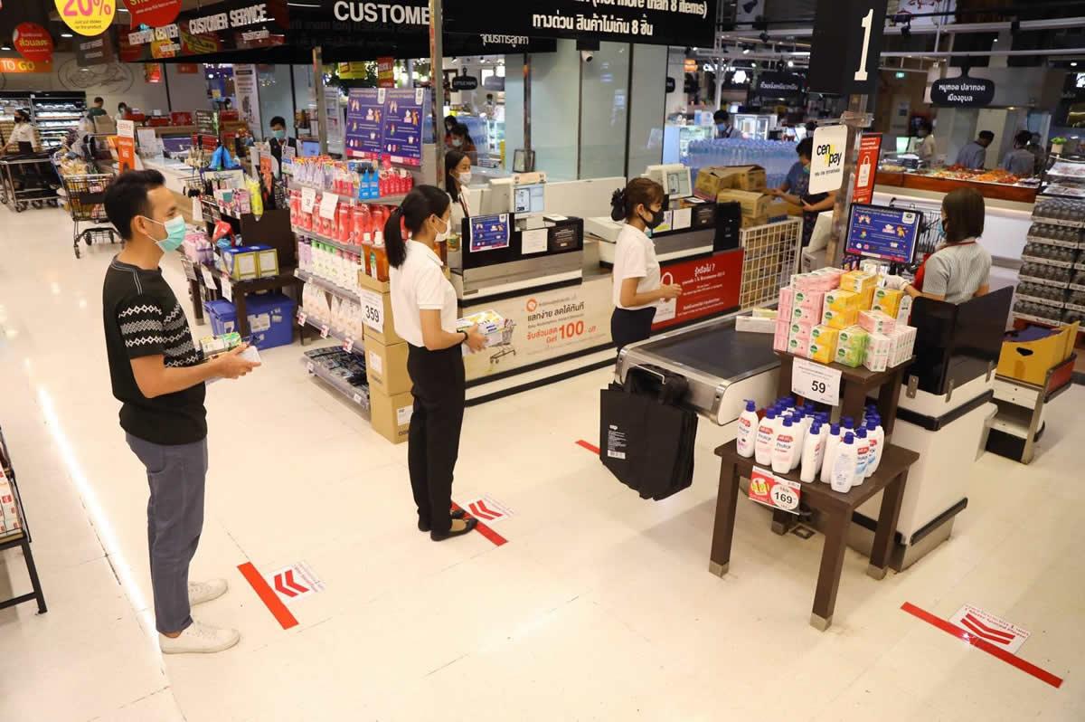 ファミリーマート、マツモトキヨシなど全店舗で1mの距離を確保