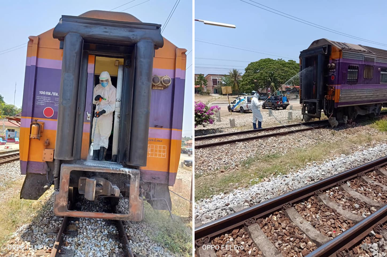 タイ国鉄内で死亡した男性がコロナ陽性、咳でウイルス撒き散らし