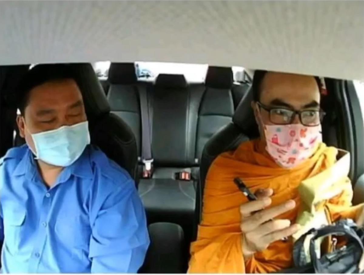 タクシー乗り逃げ偽僧侶を逮捕、「騙すつもりは無かった」