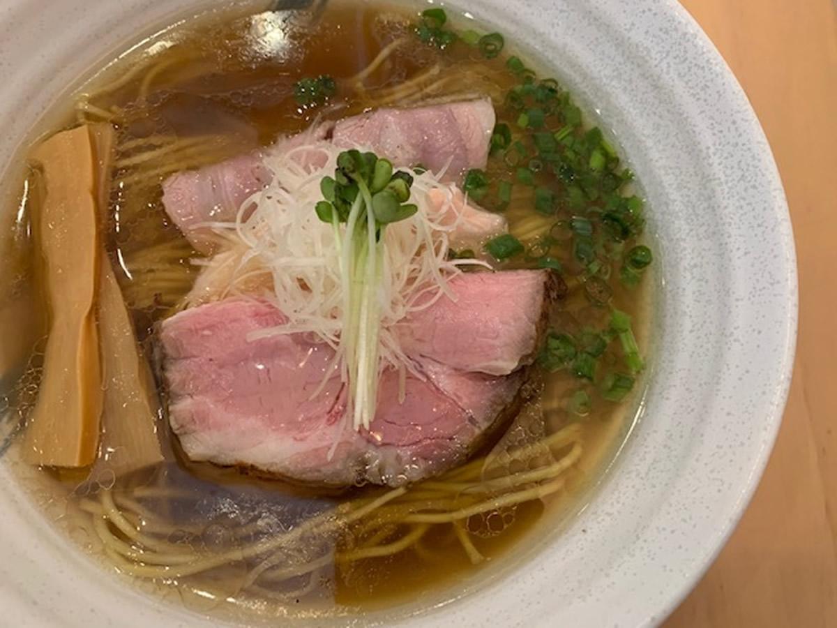 新道ラーメン @麺屋新道