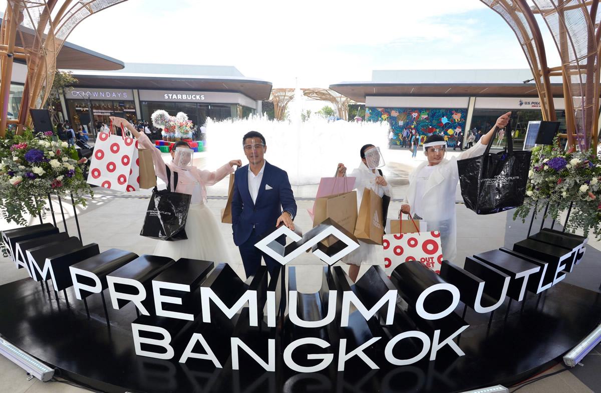 Siam Premium Outlets Bangkok:スワンナプーム空港近くでアウトレットモール開業