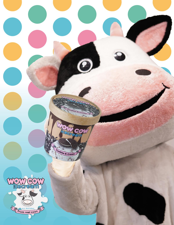 「Wow Cow」がバンコクでローンチ、ナチュラルミルクのアイスやバブルティーなど