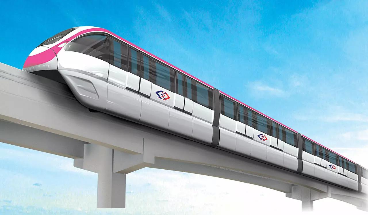 バンコクのMRTAピンクラインが2021年9月に開通