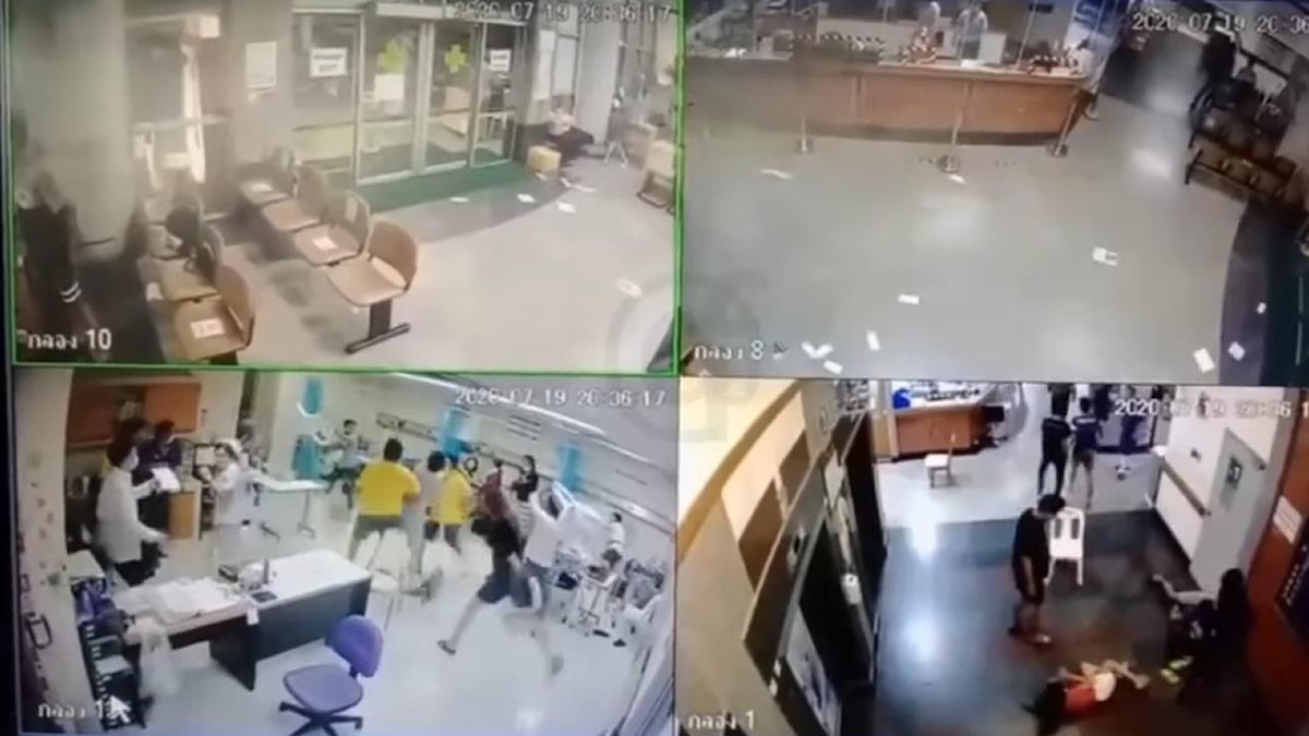 若者グループが対立し2つの病院で大暴れ、11人逮捕