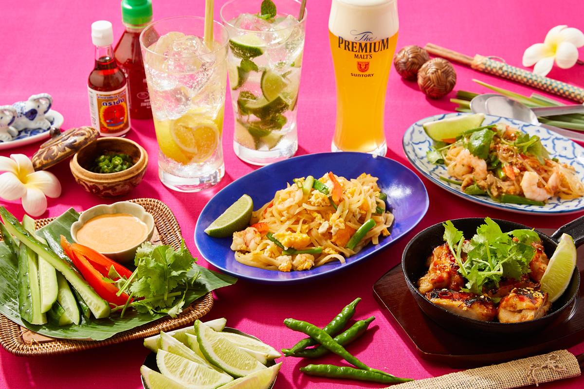 プロントで夏に食べたくなるタイ料理の「タイフェア!」開催
