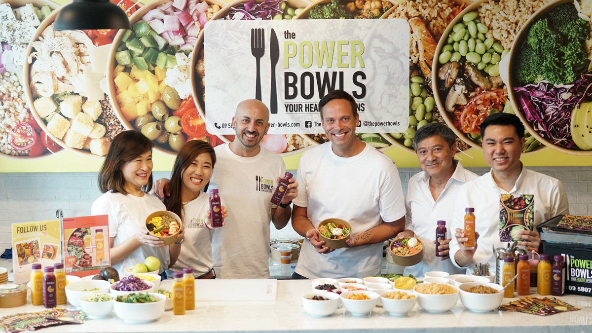 ヘルシー料理デリバリーの「The Power Bowls」とジュースブランド「PASH」がコラボ