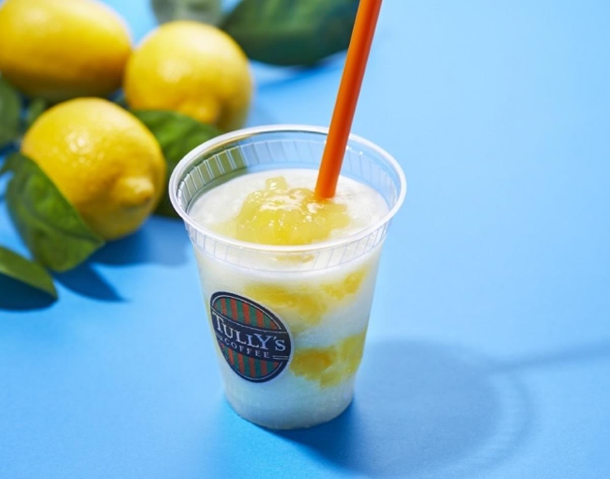 タイ産のココナッツから作ったナタデココ!タリーズで「ナタデココ&瀬戸内レモンスワークル」が期間限定で登場