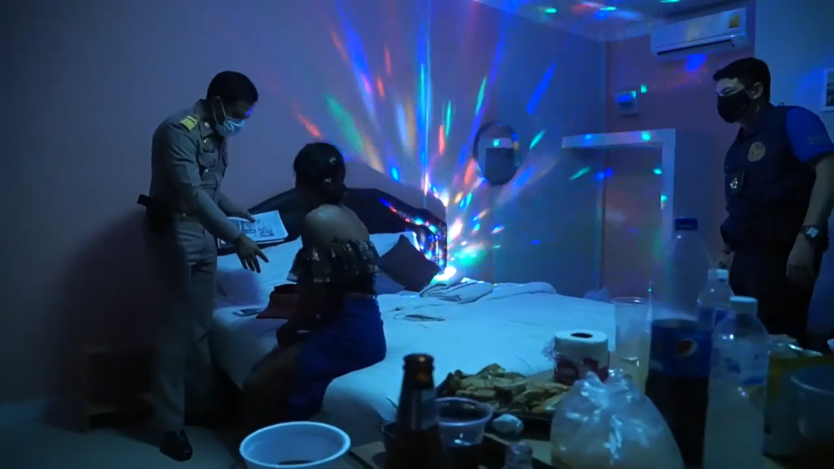 未成年女子参加のスワッピングパーティー主催のニューハーフを逮捕