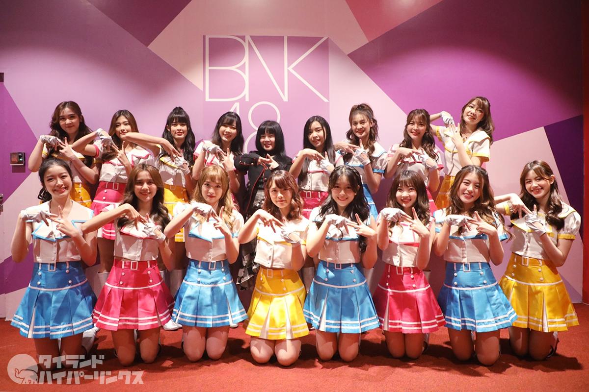 BNK48 Team NV劇場公演「シアターの女神」写真レポート