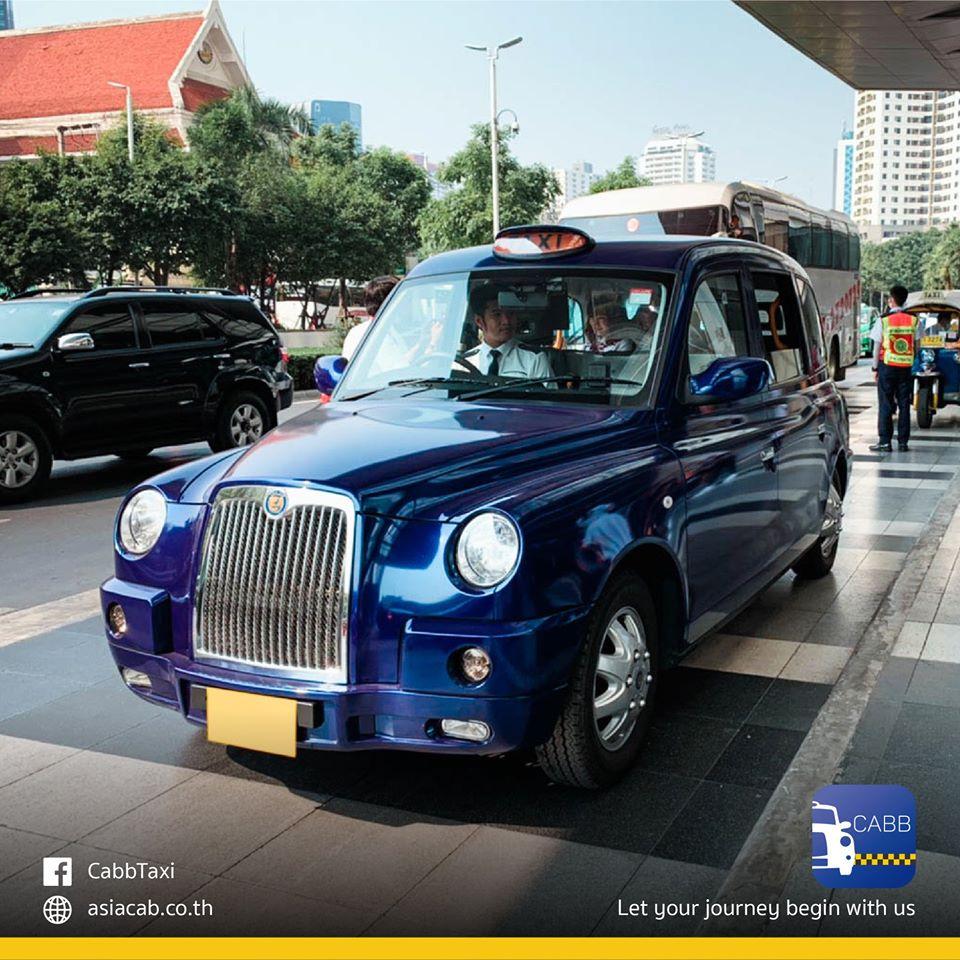 バンコクに英国スタイルの新タクシー「CABB」登場