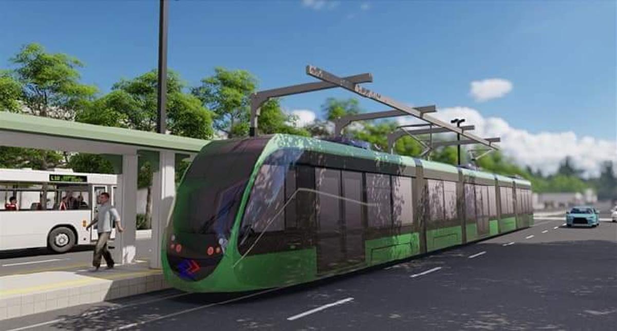 コラートの路面電車(トラム)は2025年の運転開始を予定