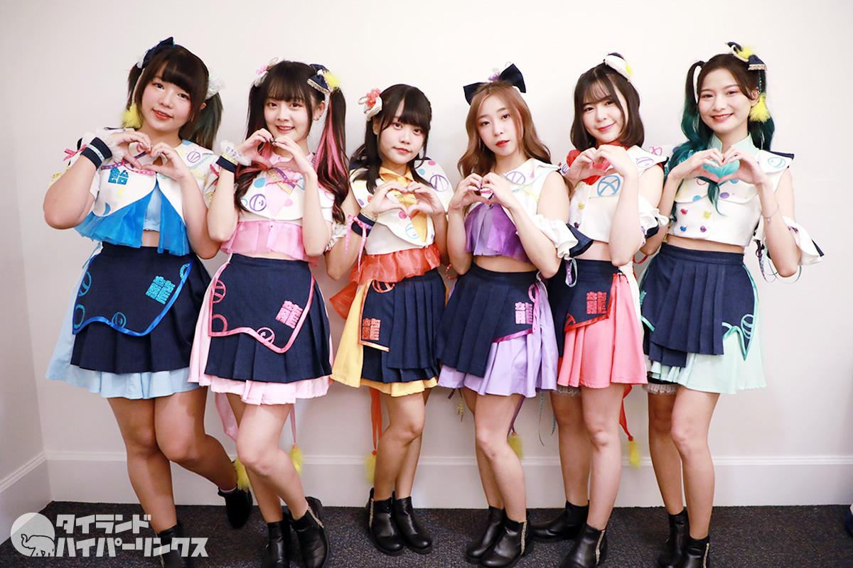6人組アイドルグループ・AMERYUが新衣装でライブ!「Siamdol on Tour 2020」
