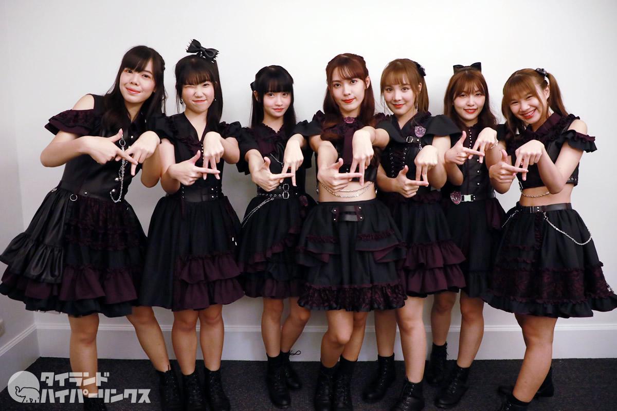 7人組アイドル「Aliszt」がデビュー曲披露[Siamdol on Tour 2020]