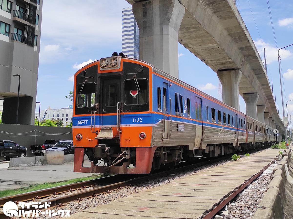 タイ国鉄(SRT)、パトゥムターニー県の3駅が使用中止