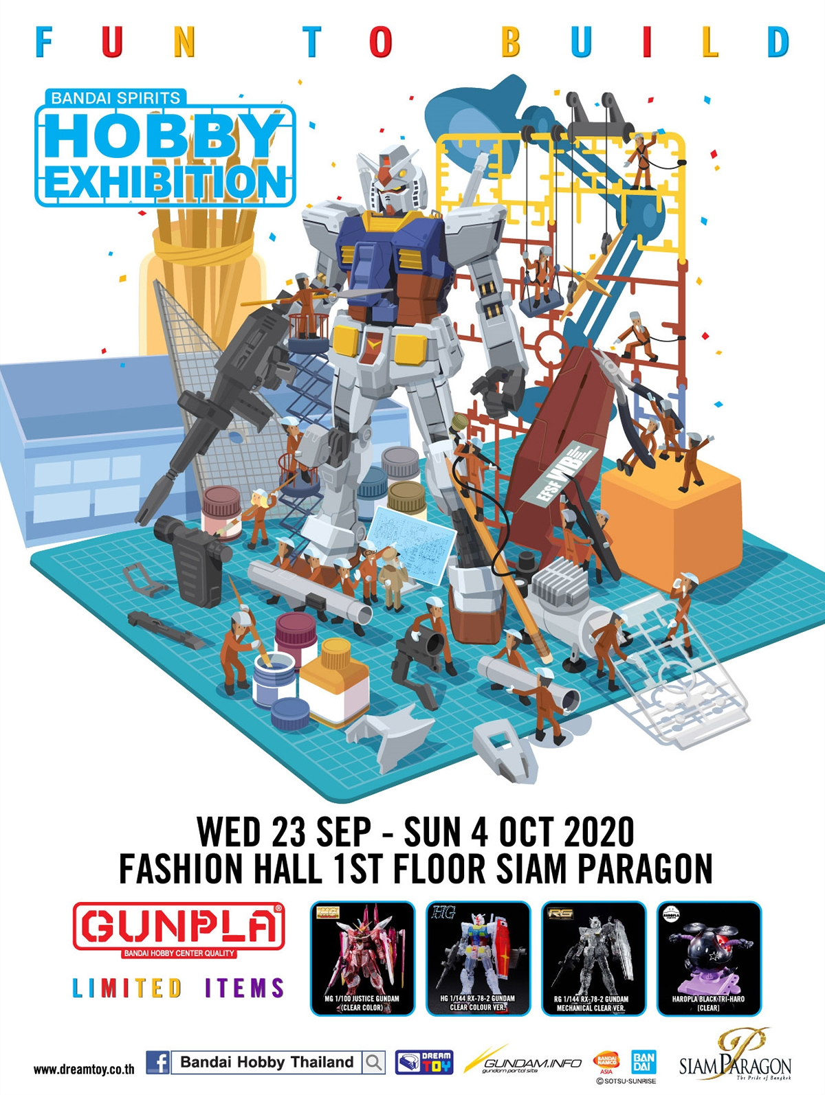 Siam Paragon Presents Bandai Spirits Hobby Exhibition 2020
