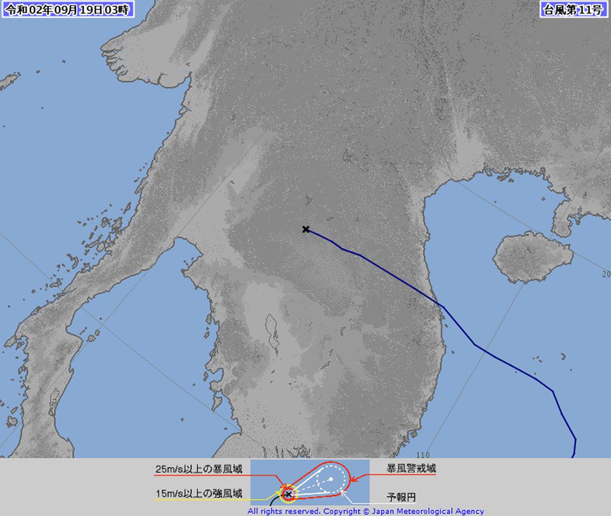 台風11号「ノウル」は熱帯低気圧に変わるも大雨・強風・高波に注意