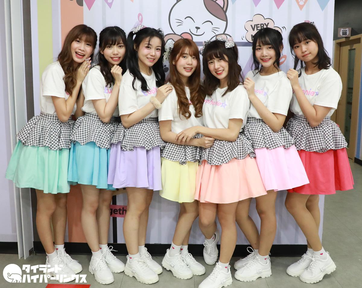Euphonie☆(ユーフォニー)の7人がバンコクでお披露目