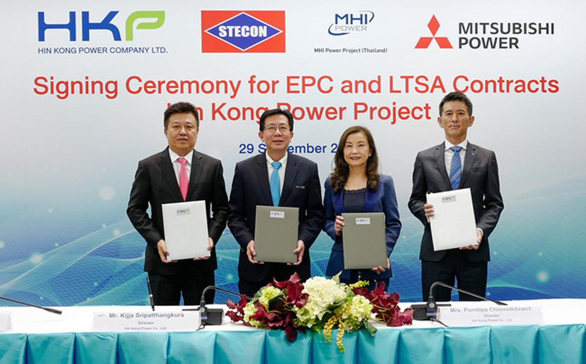 タイ向けにM701JAC形ガスタービン2基からなる140万kWの天然ガス焚きGTCC発電設備の契約締結
