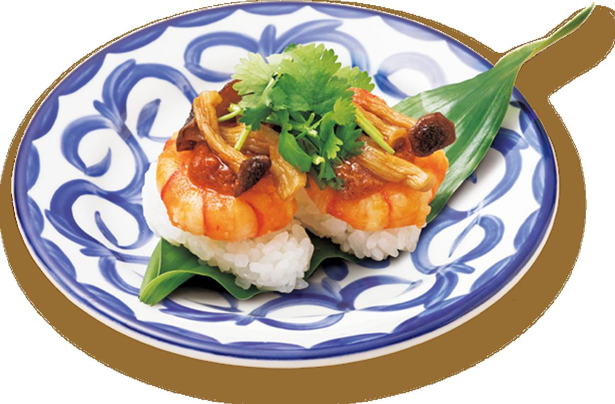 回転寿司のスシローに「トムヤムクンすし」