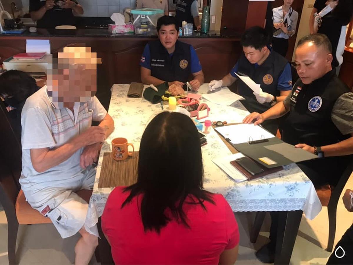 パタヤで外国人男(87歳)を児童ポルノ所持で逮捕