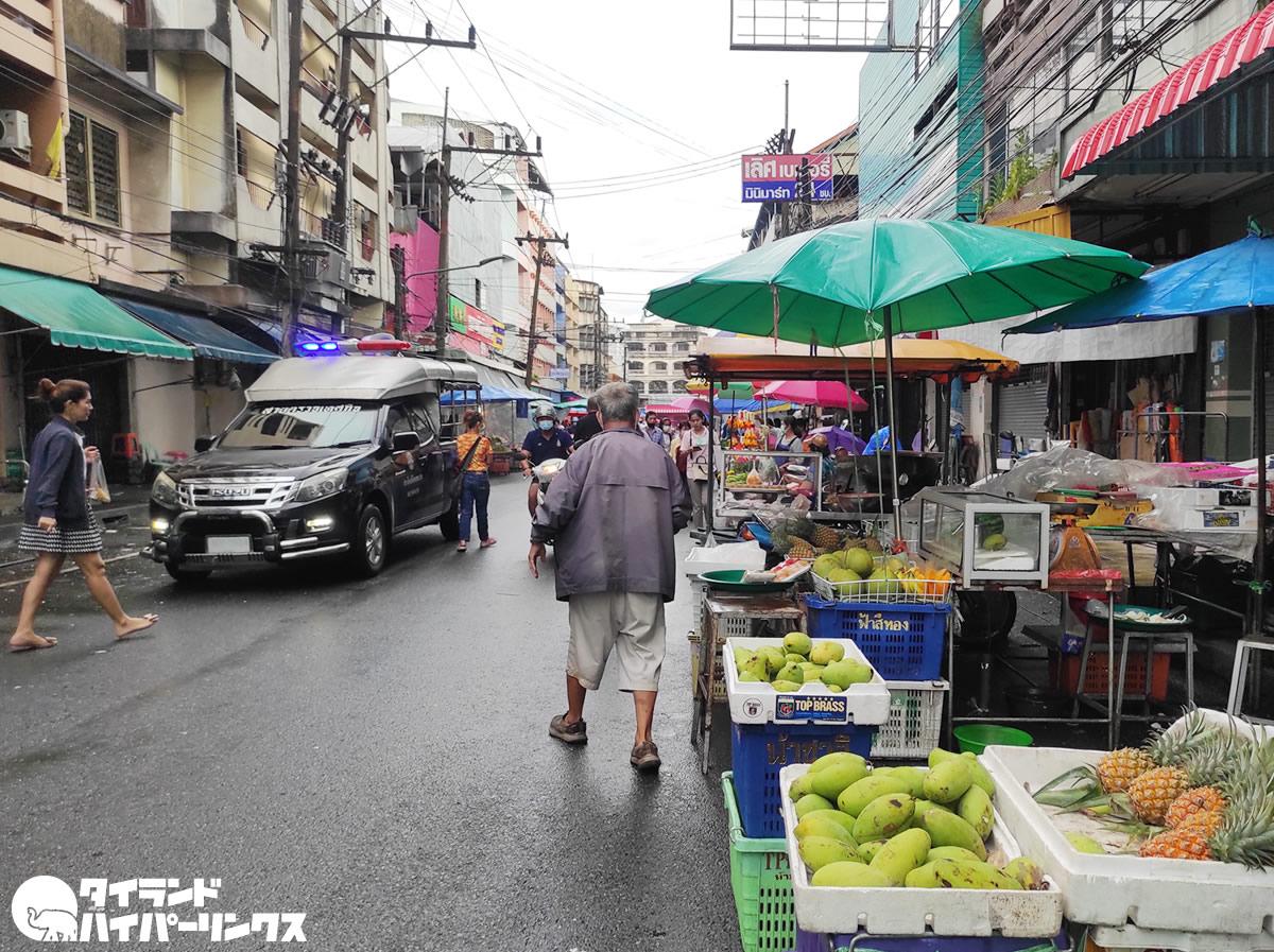ハジャイ・キムヨン市場を3日間閉鎖、女性商人が新型コロナ感染で