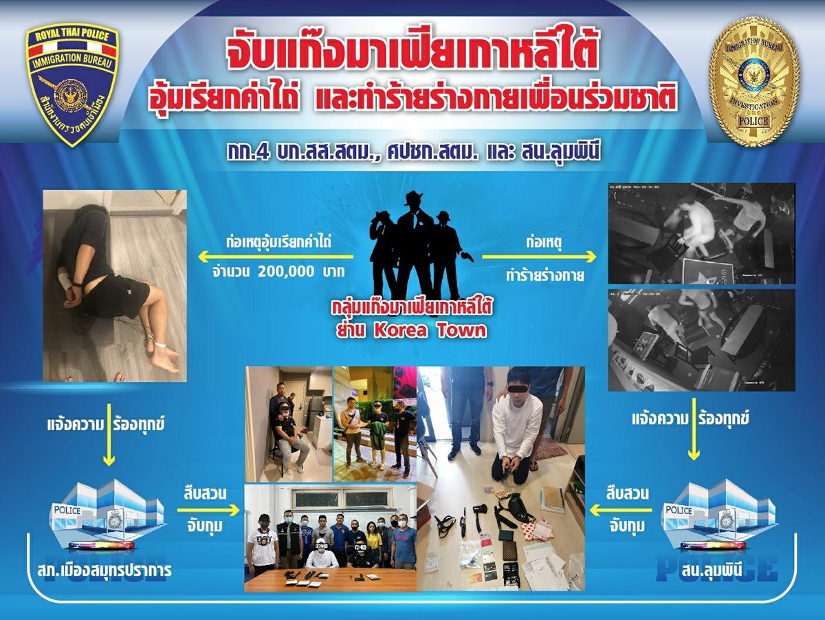 韓国人2人組がバンコク・スクンビットプラザで見知らぬ韓国人を誘拐