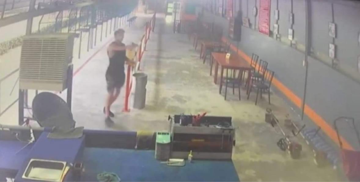 パタヤの射撃場から銃を盗んだアメリカ人、銃撃戦後に自室に立て籠もり自殺
