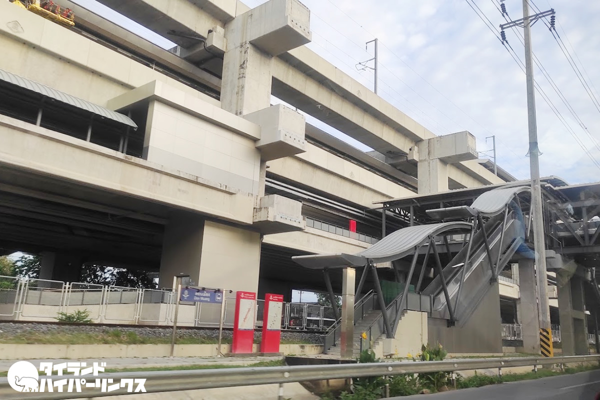 「バンコク都市鉄道レッドラインの運賃が高い」と運輸省が値下げを命令