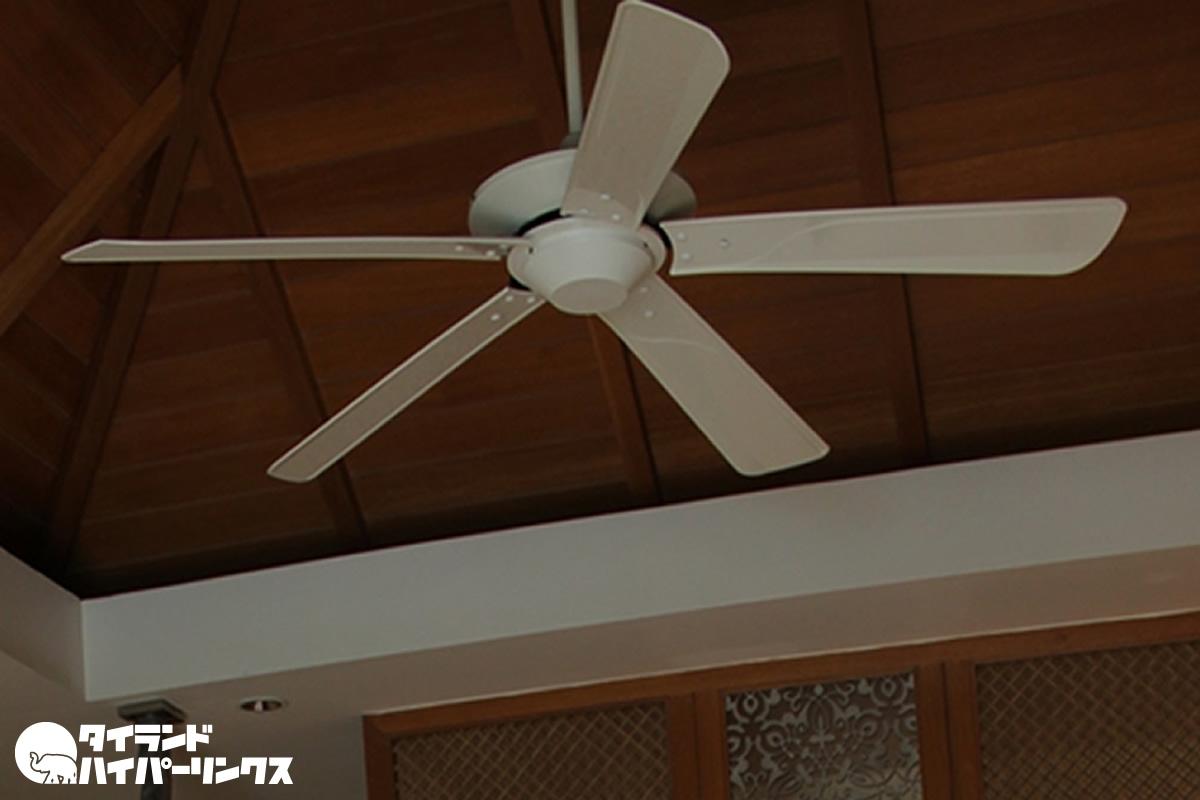パタヤのドイツ人男性、天井の扇風機で感電死