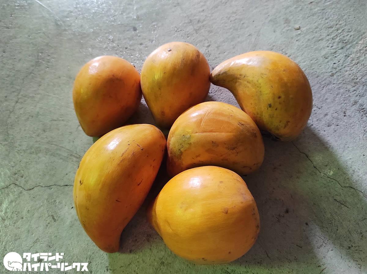 「モーンカイ(ม่อนไข่)」じわじわ美味しくなるタイの果物