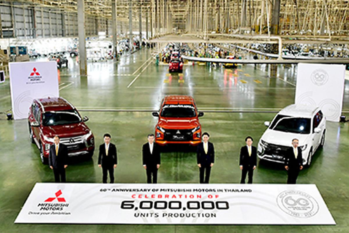 ミツビシ・モーターズ・タイランド、累計生産台数600万台目はピックアップトラック『トライトン』