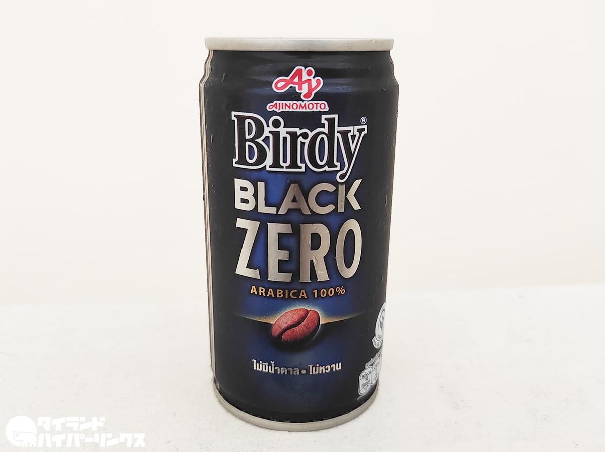 タイにも無糖の缶コーヒー登場!味の素「Birdy BLACK ZERO」