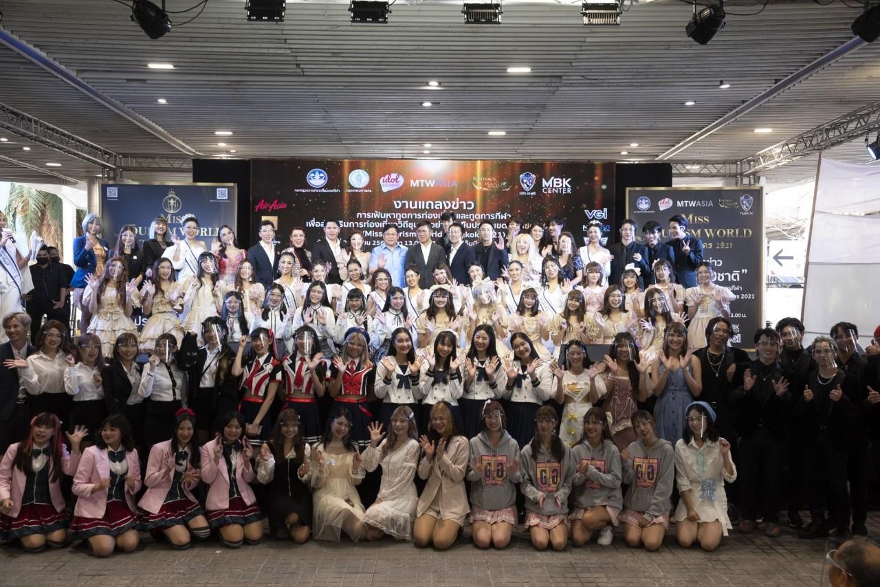 バンコク50地区に国を救うアイドル「Miss Tourism World Bangkok 2021 」