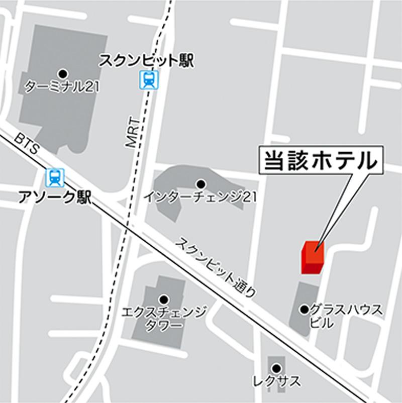 相鉄、バンコク・アソークに直営ホテルを2024年春オープンへ(ブランド名は未定)