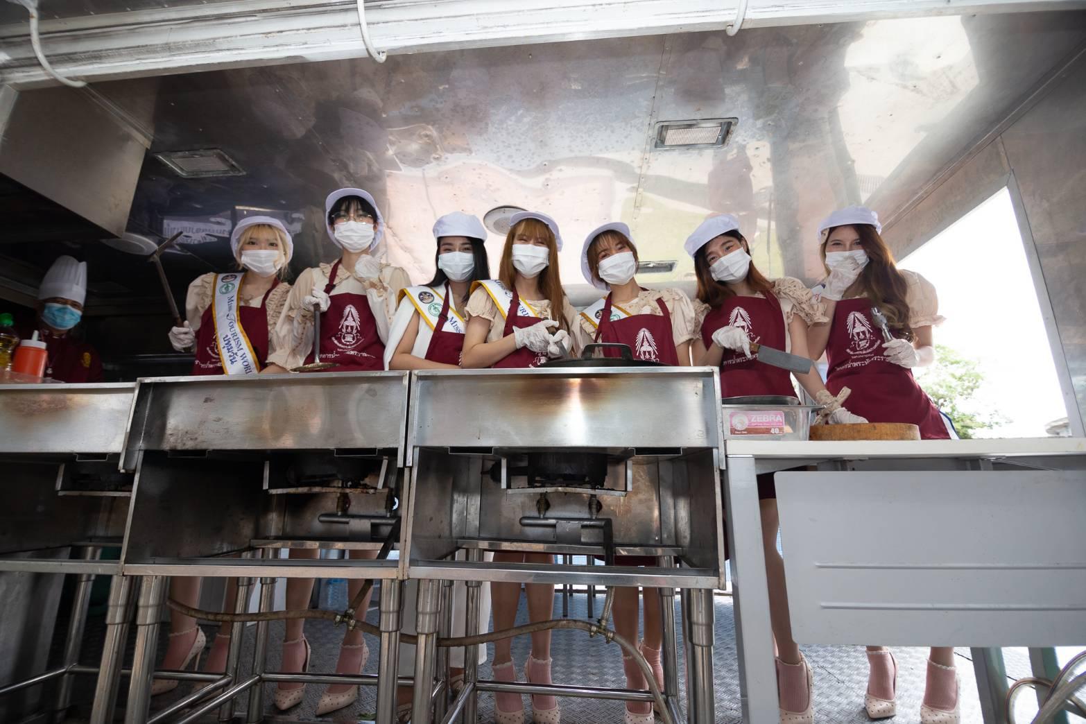 アイドルらがタイ社会福祉協議会のプロジェクトをPR