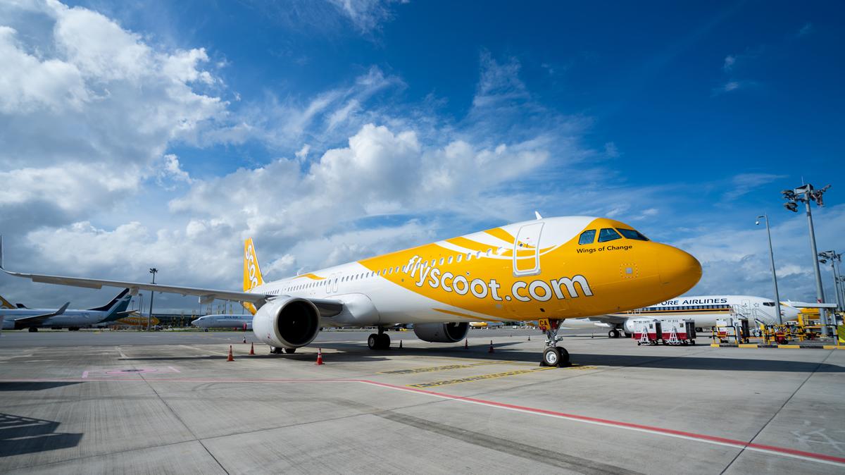 スクート「A321neo」、シンガポール発バンコク行き(TR610)で運航開始