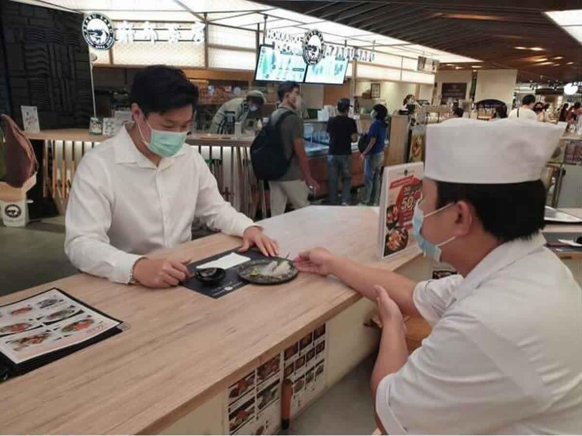 福島県・相馬沖産の鮮魚、バンコクの寿司店で販売開始
