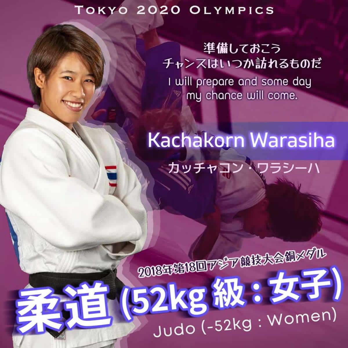 カッチャコン・ワラシーハ(リサ)選手[女子柔道 タイ代表]東京2020オリンピック
