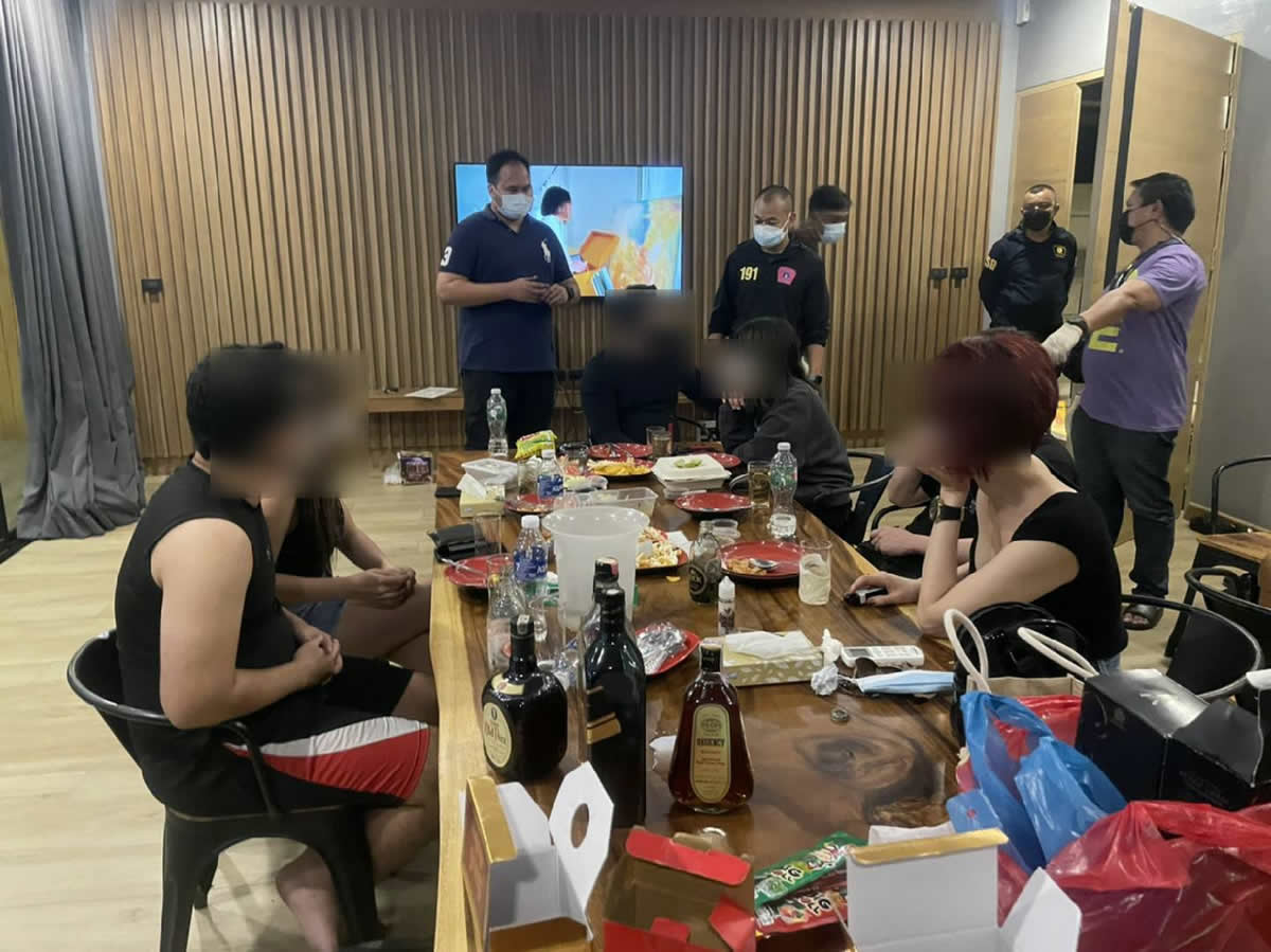 バンコクのホテルで誕生日パーティー開催の6人を逮捕、売春も