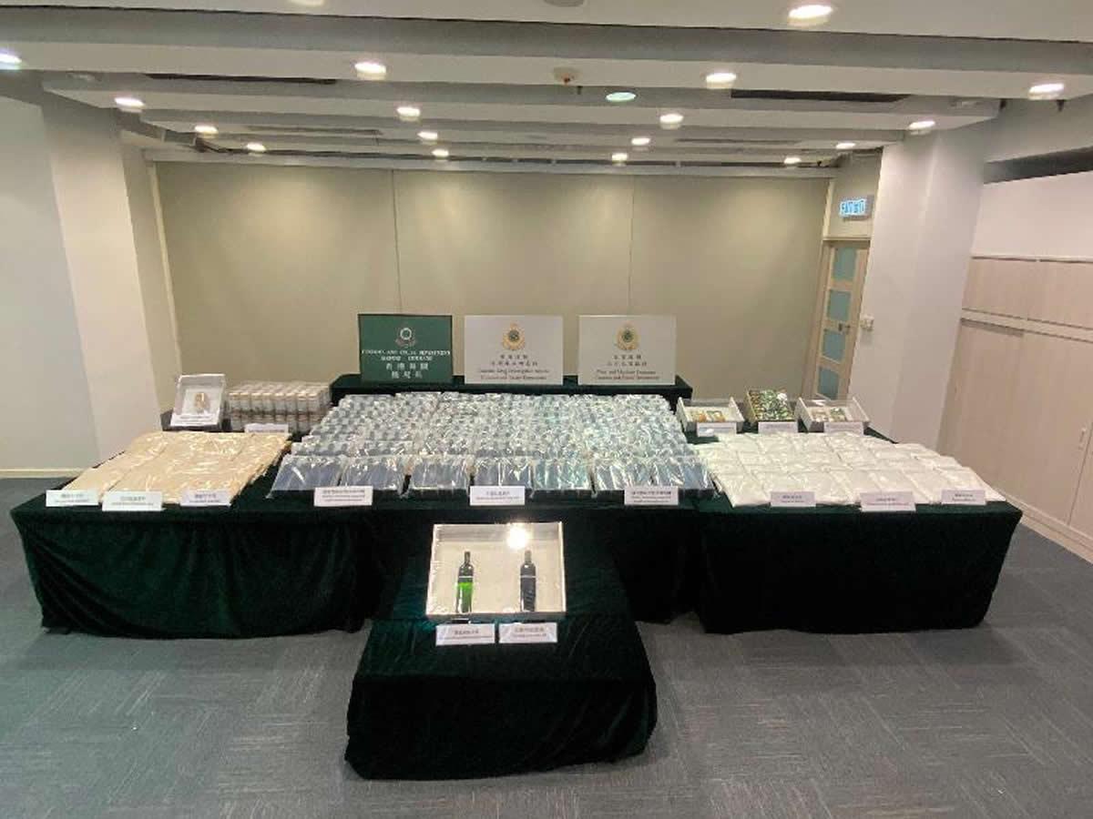 香港でビーフンに隠されたヘロイン61キロ発見、タイから発送