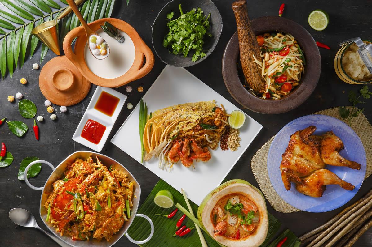 シェラトン・グランデ・トーキョーベイ・ホテルでタイ料理フェア「AROI Sheraton」開催、 バンコク・マリオット・ホテル・ザ・スリウォン総料理長監修