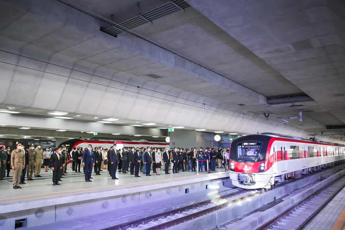 バンコクのタイ国鉄レッドラインが開通、日本がプロジェクトに参加