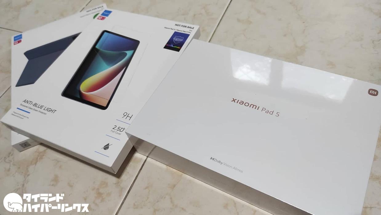 話題のタブレット「Xiaomi Pad 5」はタイでも発売、セールで9,990バーツで購入