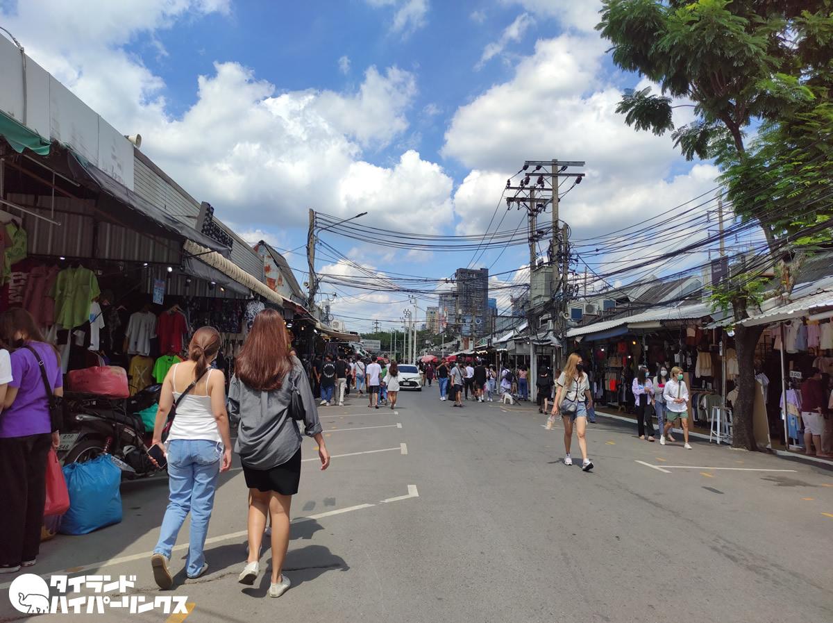 バンコク「チャトゥチャック週末市場」の今…<2021年10月10日昼過ぎ編>
