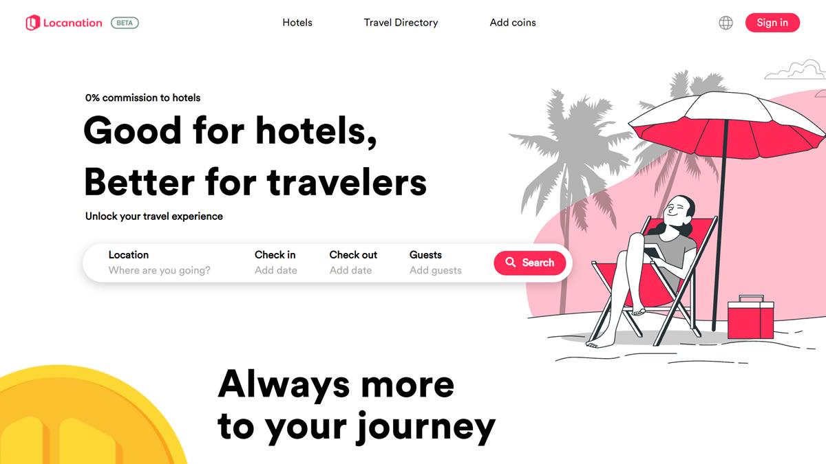 ホテル経営者に優しい予約サイト「Locanation」がオープン