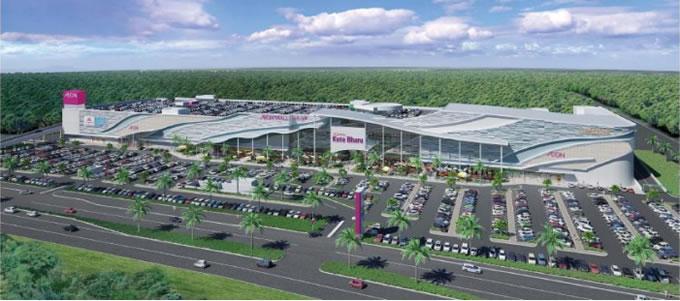 マレー半島東海岸1号店「イオンモール コタバル」が2016年5月28日オープン