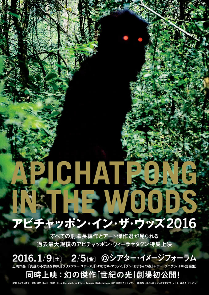 APICHATPONG IN THE WOODS